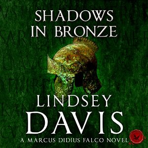 Cover image for 'Shadows In Bronze' audiobook.