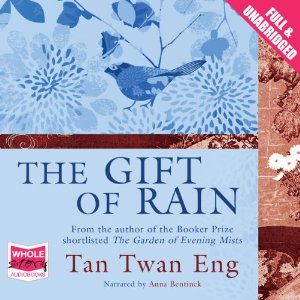 Cover image for 'The Gift Of Rain' audiobook.